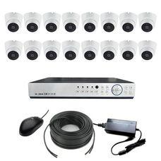AКомплект в аренду на 16 камер для помещения