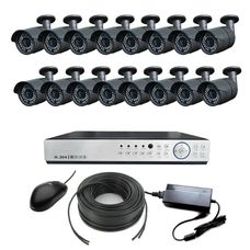 AHD-16U Light Комплект видеонаблюдения 16-ти канальный