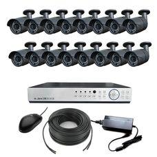 AHD-16UH Комплект видеонаблюдения 16-ти канальный