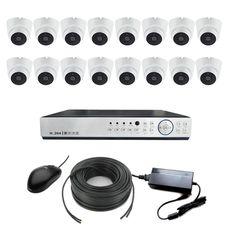 AHD-16VH Комплект видеонаблюдения 16-ти канальный