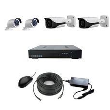 AHD-2UV-2UH Комплект видеонаблюдения на 4 камеры