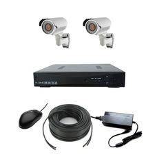 AHD-2UV Light Комплект видеонаблюдения на 2 камеры