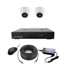 AHD-2V Light Комплект видеонаблюдения на 2 камеры