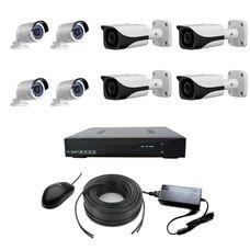 AHD-4UV-4UH  Комплект видеонаблюдения 8-ми канальный