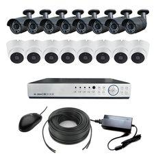 AHD-8U8V Light Комплект видеонаблюдения 16-ти канальный