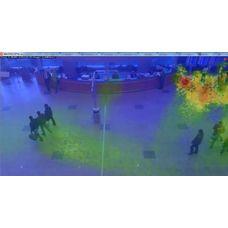 MACROSCOP Модуль Тепловая карта интенсивности движения