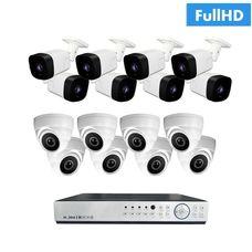 IP-16UV Комплект видеонаблюдения на 16 ip камер