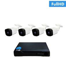 IP-4U Комплект видеонаблюдения на 4 ip камеры