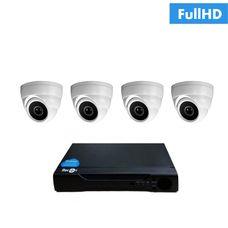 IP-4V Комплект видеонаблюдения на 4 ip камеры