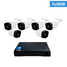 IP-6U Комплект видеонаблюдения на 6 ip камер