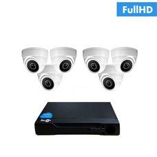 IP-6V Комплект видеонаблюдения на 6 ip камер